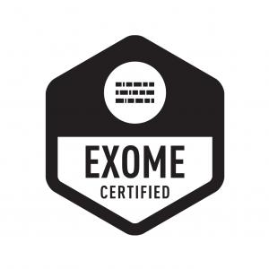 Exome certified logo